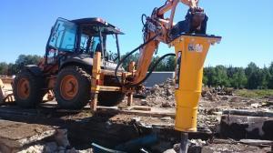 Mlot hydrauliczny Arrowhead R75 Case 695 03