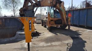 Mlot hydrauliczny Arrowhead R75 Cat428d 03