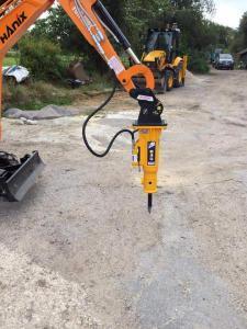 Mlot hydrauliczny Arrowhead r45 Hanix H17D 01